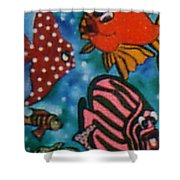 Art Fish Shower Curtain