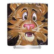 Tiger Art Shower Curtain