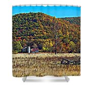Autumn Farm Shower Curtain