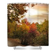 Autumn Hues Shower Curtain
