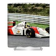 Ayrton Senna Shower Curtain