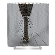 Bacteriophage Shower Curtain