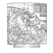 Battle Of Yorktown, 1781 Shower Curtain