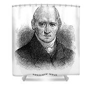 Benjamin West (1738-1820) Shower Curtain