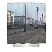 Berlin 1961 Shower Curtain