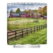 Beyond The Fence Shower Curtain