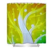 Birth Shower Curtain