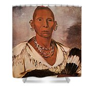 Black Hawk (1767-1838) Shower Curtain