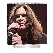 Black Sabbath Shower Curtain