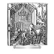 Blacksmith, C1250 Shower Curtain