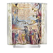 Blake: Songs Of Innocence Shower Curtain