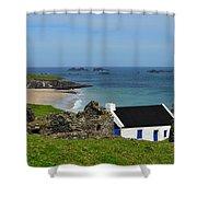 Blasket Island Shower Curtain