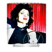 Blue Velvet Shower Curtain
