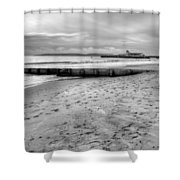 Bournemouth Beach Shower Curtain