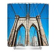 Brooklyn Bridge -  New York City Shower Curtain