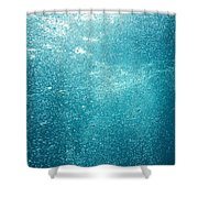 Bubbles Underwater Shower Curtain by Stuart Westmorland