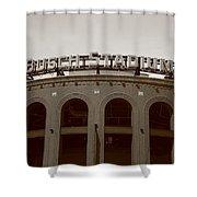 Busch Stadium - St. Louis Cardinals Shower Curtain