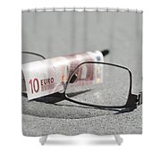 Business Shower Curtain