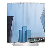 Business Skyscrapers. Shower Curtain