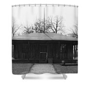 Cahokia Courthouse Shower Curtain