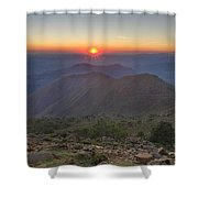 Gibraltar Countryside Shower Curtain