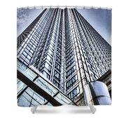 Canary Wharf Tower Shower Curtain