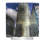 Canary Wharf Tower London Shower Curtain