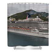 Carnival Dream Shower Curtain