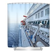 Carnival Elation Shower Curtain