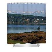 Chambers Bay Golf Course - University Place - Washington Shower Curtain
