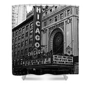Chicago Theater Shower Curtain