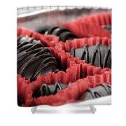 Chocolate Shower Curtain