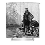 Christopher Columbus (1451-1506) Shower Curtain