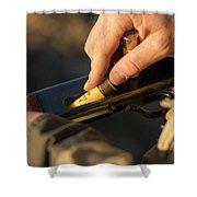 Chukar Hunting In Nevada Shower Curtain
