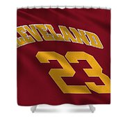Cleveland Cavaliers Uniform Shower Curtain