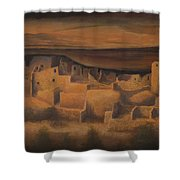 Cliff Palace Shower Curtain