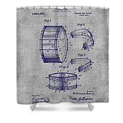 Collapsible Drum Patent 008 Shower Curtain