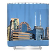 Colorful Chicago Shower Curtain