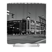 Coors Field - Colorado Rockies Shower Curtain by Frank Romeo