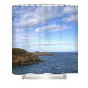 Cornwall - Rumps Point Shower Curtain
