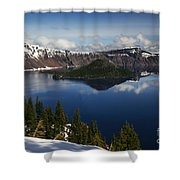 Crater Lake - Oregon Shower Curtain