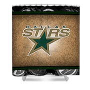 Dallas Stars Shower Curtain