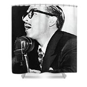 Dalton Trumbo (1905-1976) Shower Curtain
