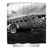 Dc-3 Iceland Shower Curtain
