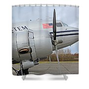 dc3 Shower Curtain