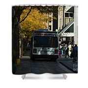 Denver City Scenes Shower Curtain