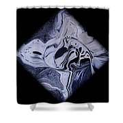 Diamond 203 Shower Curtain