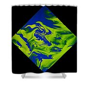 Diamond 210 Shower Curtain