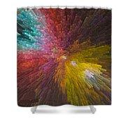 3 Dimensional Art Shower Curtain