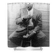 Dizzy Gillespie (1917-1993) Shower Curtain